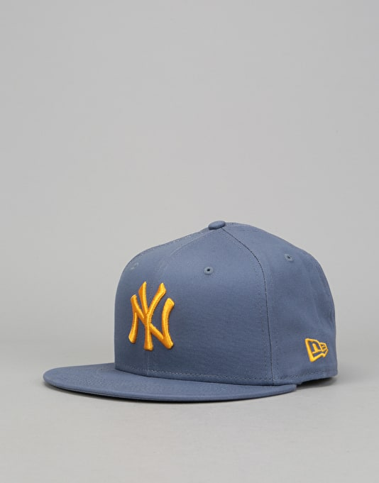 2e6c4de29d3 New Era 9Fifty MLB New York Yankees Leauge Snapback Cap - Slate Gold ...