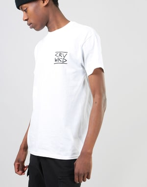 CRV WKD Gang Signs T-Shirt - White