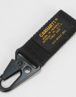 Carhartt Military Keychain - Black