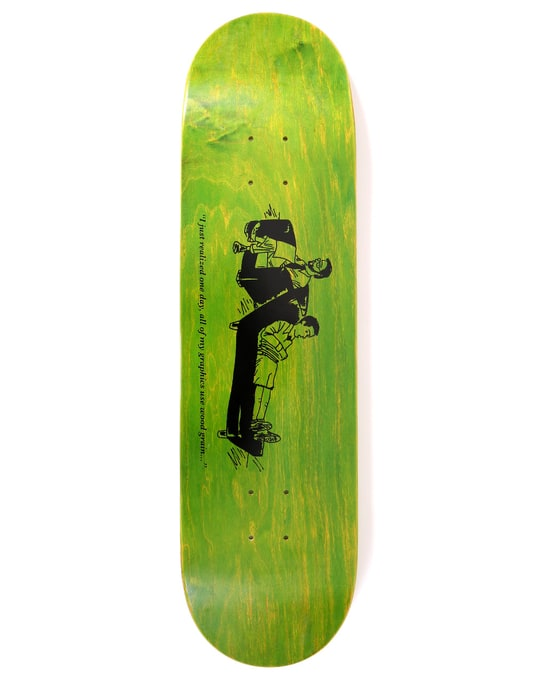 Chocolate Hsu Wood Grain Skateboard Deck - 8.25""