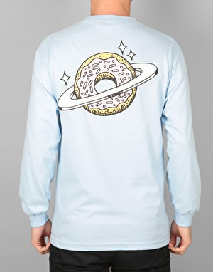 Skateboard Café Planet Donut L/S T-Shirt - Powder Blue