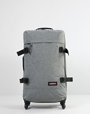 Eastpak Trans4 Medium Wheeled Luggage Bag - Sunday Grey