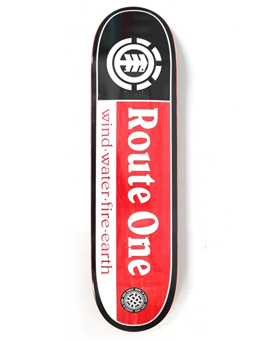 Element x Route One Section SMU Exclusive Skateboard Deck - 8""