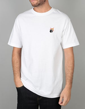 The Hundreds Crest Adam T-Shirt - White