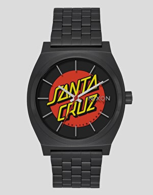 Nixon x Santa Cruz Time Teller Watch - Black/Santa Cruz