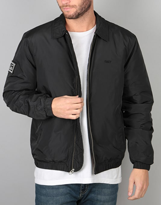 Obey Mission Jacket - Black