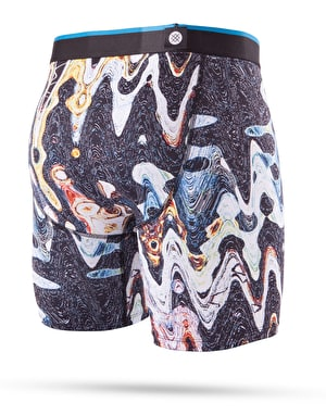 Stance Oil Slick Boxer Shorts - Black