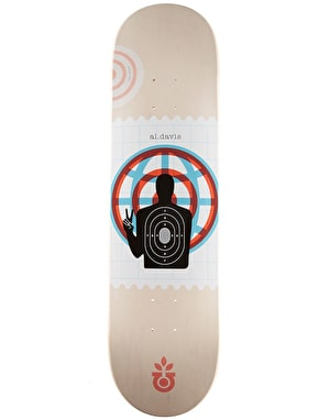 Habitat Davis World 'Piece' Skateboard Deck - 8.125