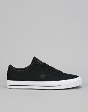 Converse Mike Anderson One Star Pro Ox Skate Shoes - Black/Black/White