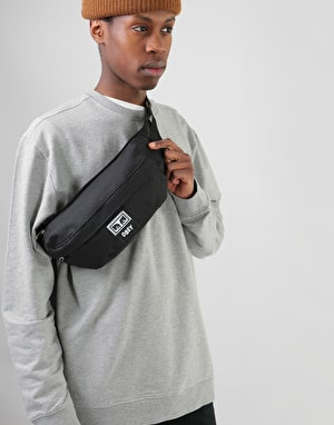 Obey Drop Out Sling Cross Body Bag - Black