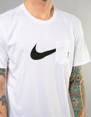 Nike SB Dri-Fit Pocket T-Shirt - White/Black
