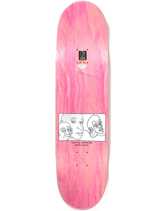 Polar x Dear x Ron Chatman Three Faces Team Deck - 8.5""