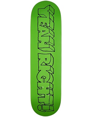 Girl Films Series Yeah Right! Skateboard Deck - 8.375