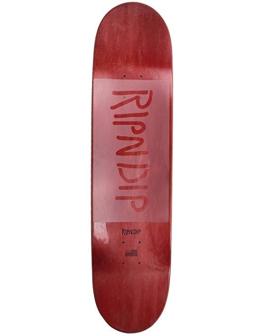 RIPNDIP Liberty Skateboard Deck - 8.25""