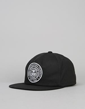 Obey Established 89 Snapback Cap - Black