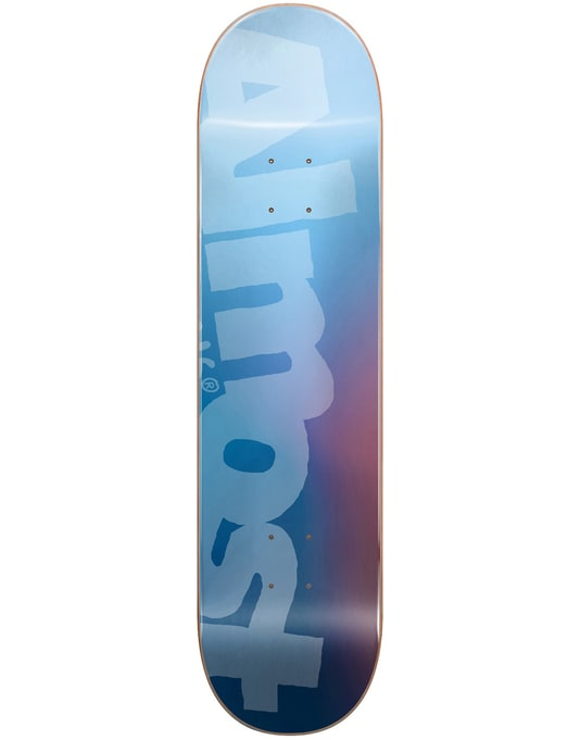 Almost Side Pipe Blurry Skateboard Deck - 8.5""