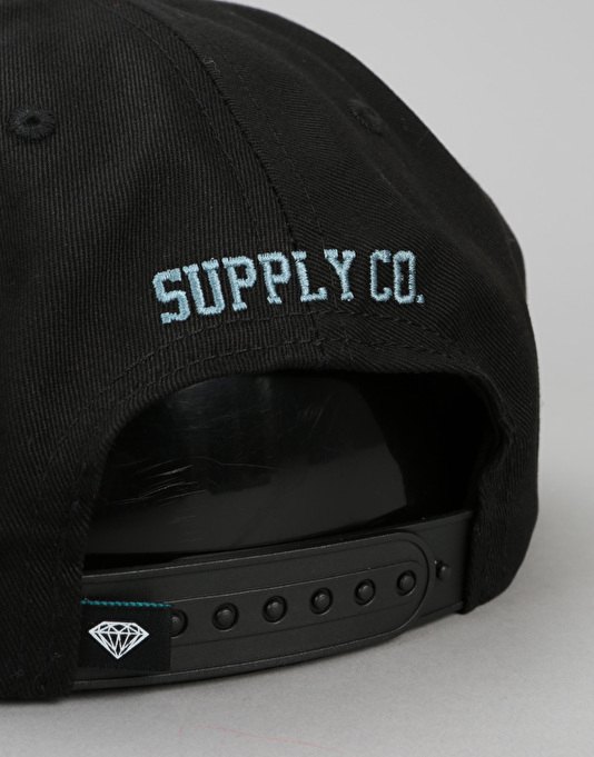 81878a39529 Diamond Supply Co. Brilliant Unconstructed Snapback Cap - Black ...