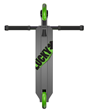 Lucky Crew Pro 2017 Scooter - Graphite/Green