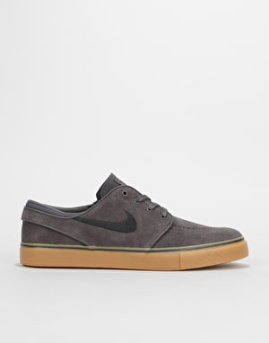 Nike SB Zoom Stefan Janoski Skate Shoes - Thunder Grey/Black-Gum