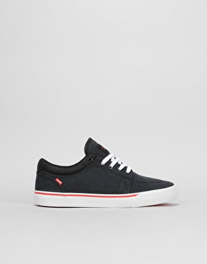 Globe GS Boys Skate Shoes - Phantom/White