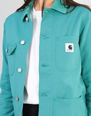 Carhartt Womens Michigan Jacket - Soft Teal (Rinsed)