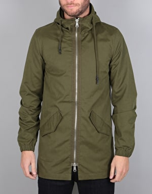 Bellfield Garbo Parka Jacket - Khaki