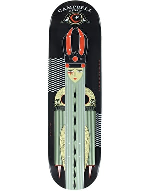 Foundation Aidan Bad 'n' Bougie Skateboard Deck - 8.375