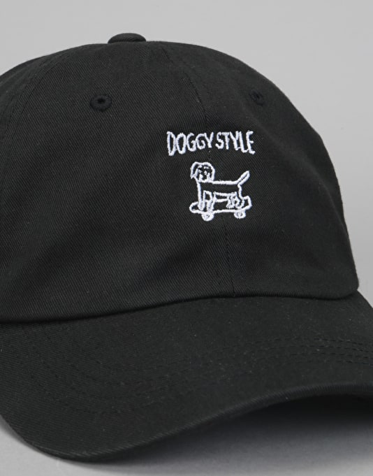 Route One Doggy Style Dad Cap - Black