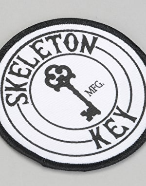 Skeleton Key Logo Patch