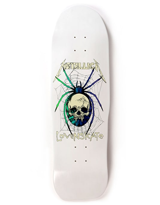 Lovenskate x Metallica Spider Zorlove Ltd Deck - 9.5""