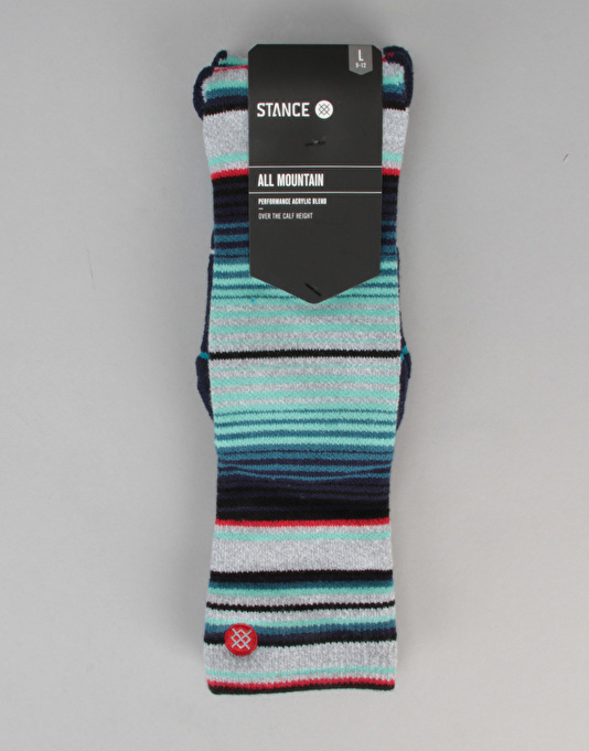 Stance Inyo All Mountain Snowboard Socks - Grey Heather