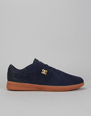 DC New Jack S Skate Shoes - Navy/Gum