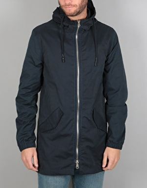 Bellfield Garbo Parka Jacket - Navy