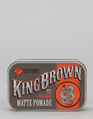 King Brown Matte Pomade 71g Hair Product