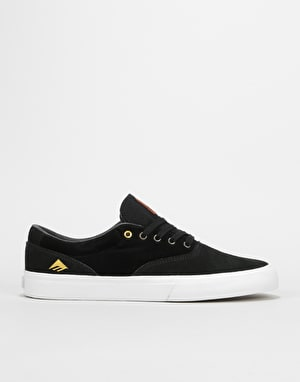 Emerica Provost Slim Vulc Skate Shoes - Black/White/Gum
