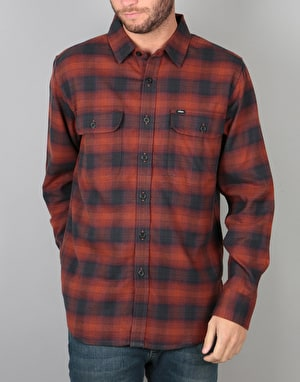 Obey Kemper Woven L/S Shirt - Port Multi