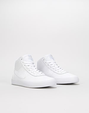 Nike SB Bruin Hi Womens Trainers - White/White/Vast Grey