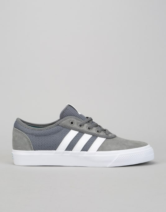 Adidas Adi-Ease Skate Shoes - Grey Four/White/Real Teal
