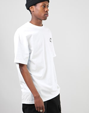 Lakai x Hard Luck Motto T-Shirt - White