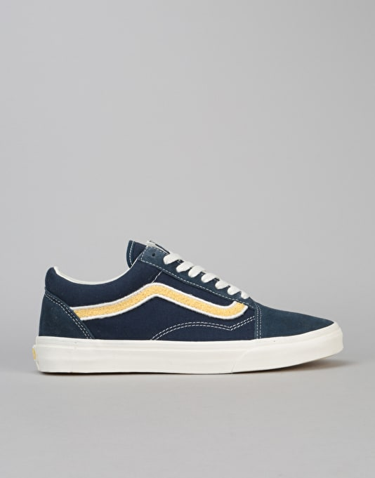 Vans Old Skool Skate Shoes - (MLX) Patch/Dress Blues/Mimosa