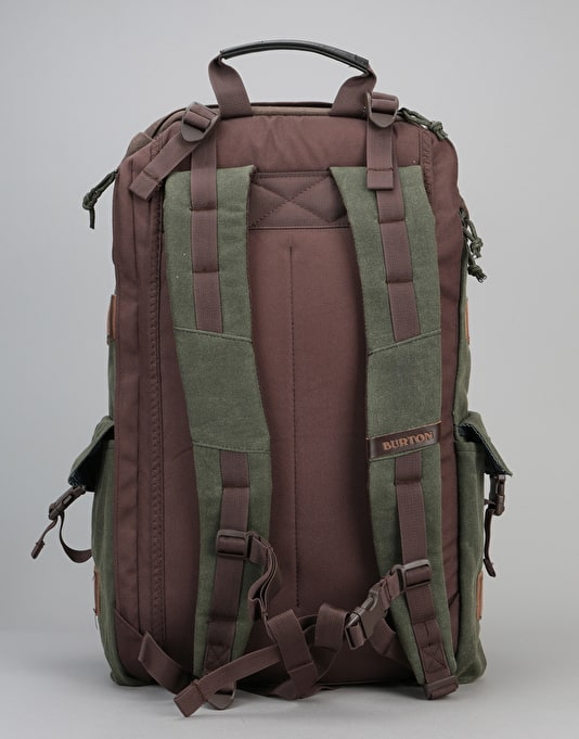 Burton Annex Pack - Forest Night Waxed Canvas