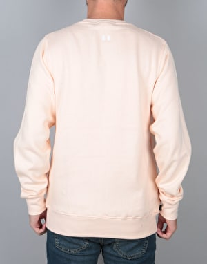The Hundreds Bartlett Crewneck Sweatshirt - Pale Pink