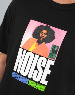 Butter Goods Noise T-Shirt - Black