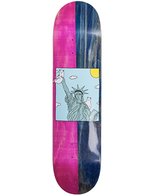RIPNDIP Liberty Skateboard Deck - 8""