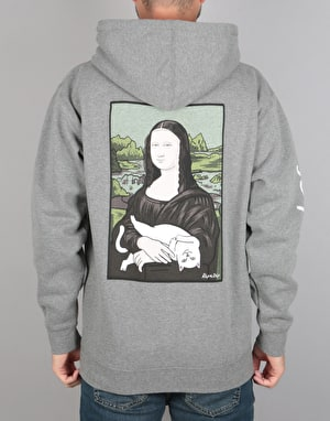 RIPNDIP Nermal Lisa Pullover Hoodie - Athletic Heather