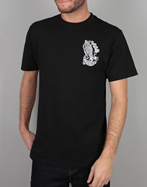 Santa Cruz Bone Guadalupe T-Shirt - Black