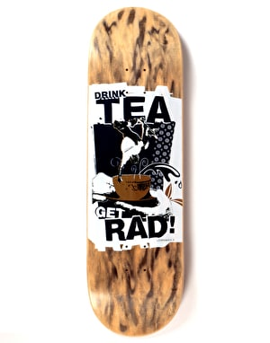 Lovenskate Drink Tea Get Rad Team Deck - 8.8