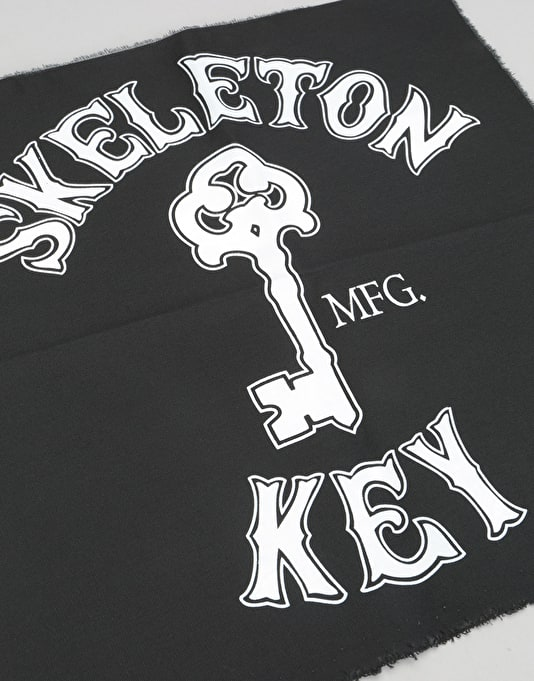 Skeleton Key Branded Key Punk Patch