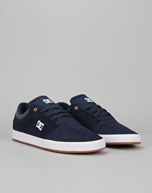 DC Crisis SE Skate Shoes - Navy/Blue/White