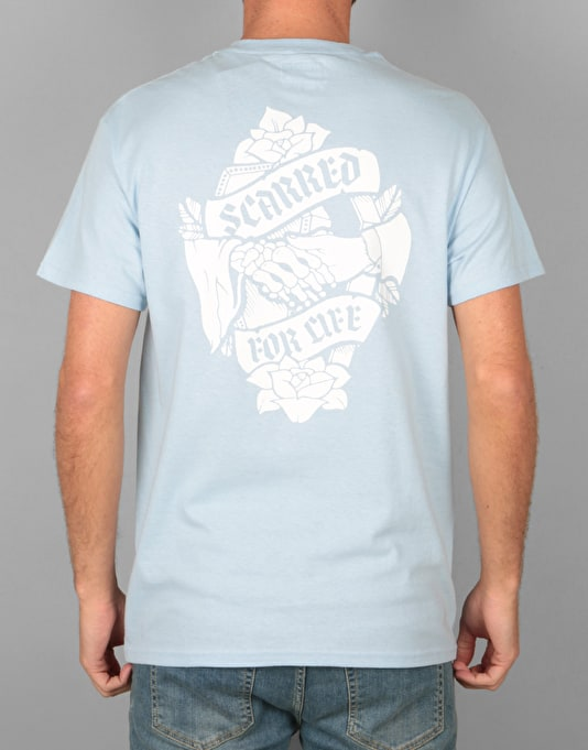 Scarred For Life Don't Fear The Reaper T-Shirt - Light Blue